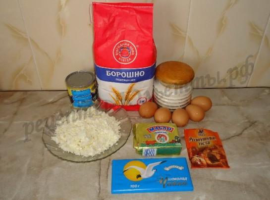 Рецепт пирожного буренка