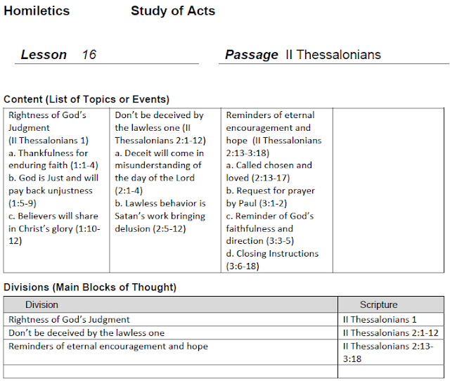 homiletics 101 2 thessalonians 1 3 lesson 16. Black Bedroom Furniture Sets. Home Design Ideas
