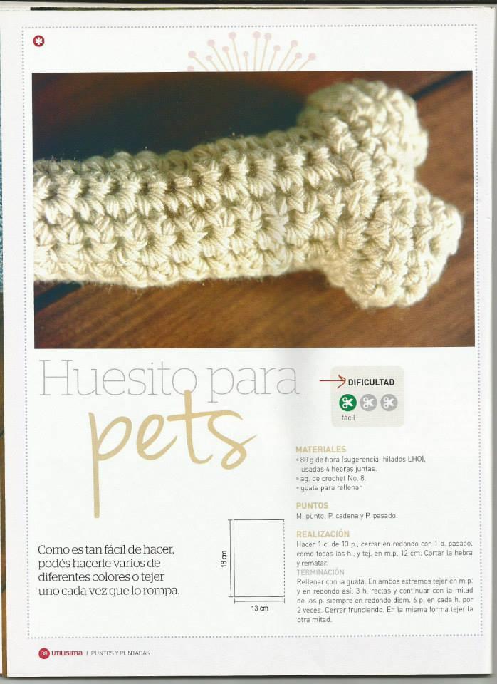 Fantástico Patrón De Crochet Fácil Para El Suéter Perro Pequeño ...