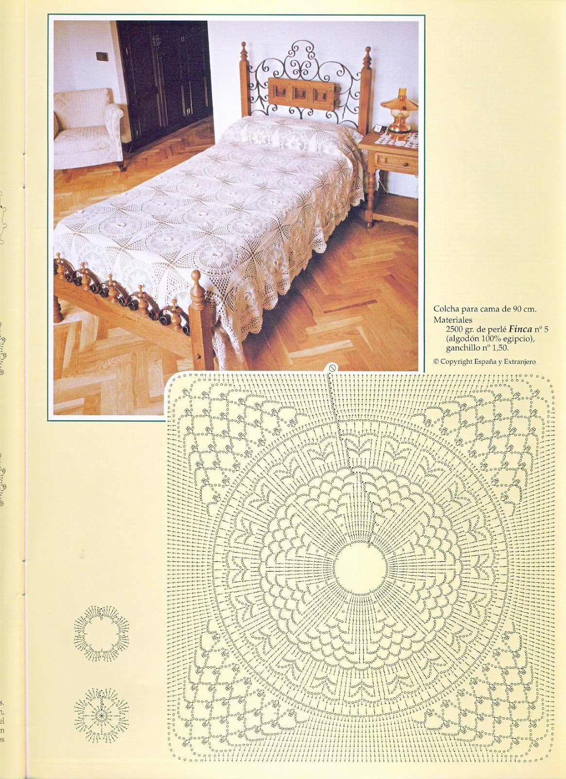 Colchas Crochet Patrones - Diseño Moderno Para El Hogar - Zlit.net