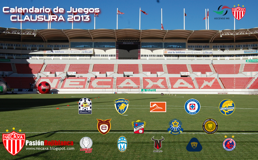 Calendario De La Liga Mexicana De 2016 Calendar | Calendar Template ...
