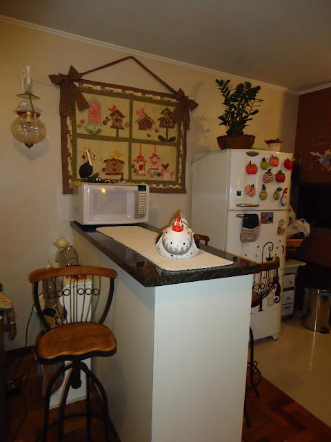 Coisas da bruxinha: panô para minha cozinha !!