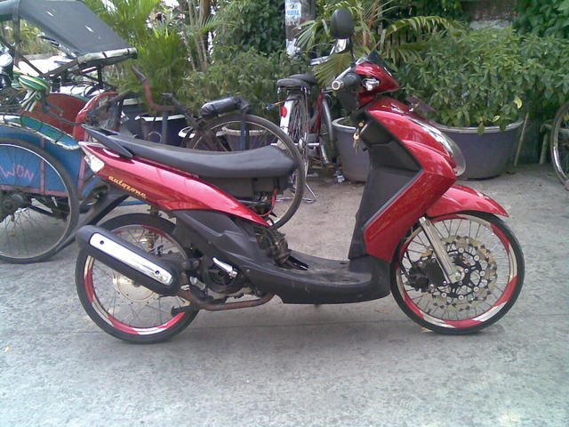 Modifikasi Yamaha Mio Pelek 17 Bergaya Thailand Reviewed by SOME on  title=