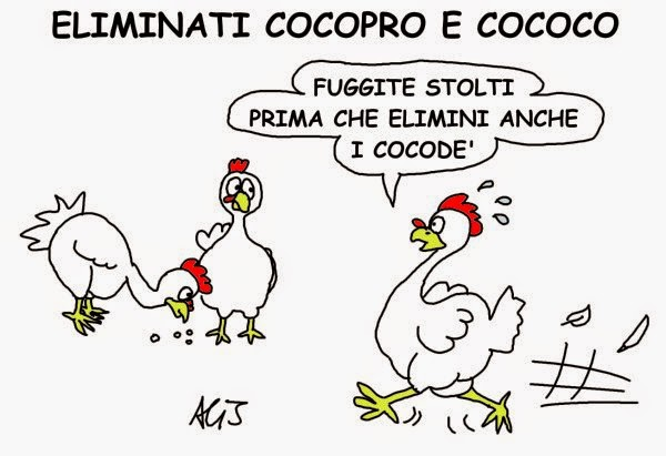 Renzi, jobsact, cococo, art.18, satira