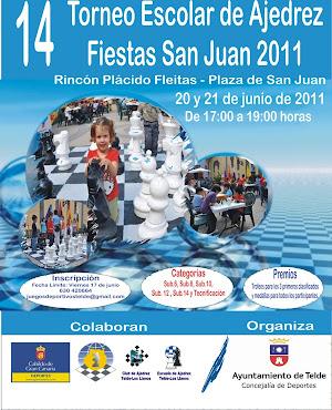 14º Escolar Fiestas San Juan, 20-21 junio 2011