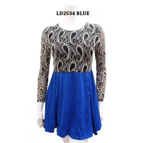 PEPLUM PAISLEY TOP/DRESS