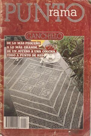 R10 Punto Rama Ganchillo - De lo mas pequeño a lo más grande