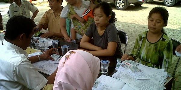 Pendatang di Kota Bandung Kena Razia KTP di Terminal Cicaheum