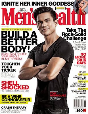 tom rodriguez men's health november issue