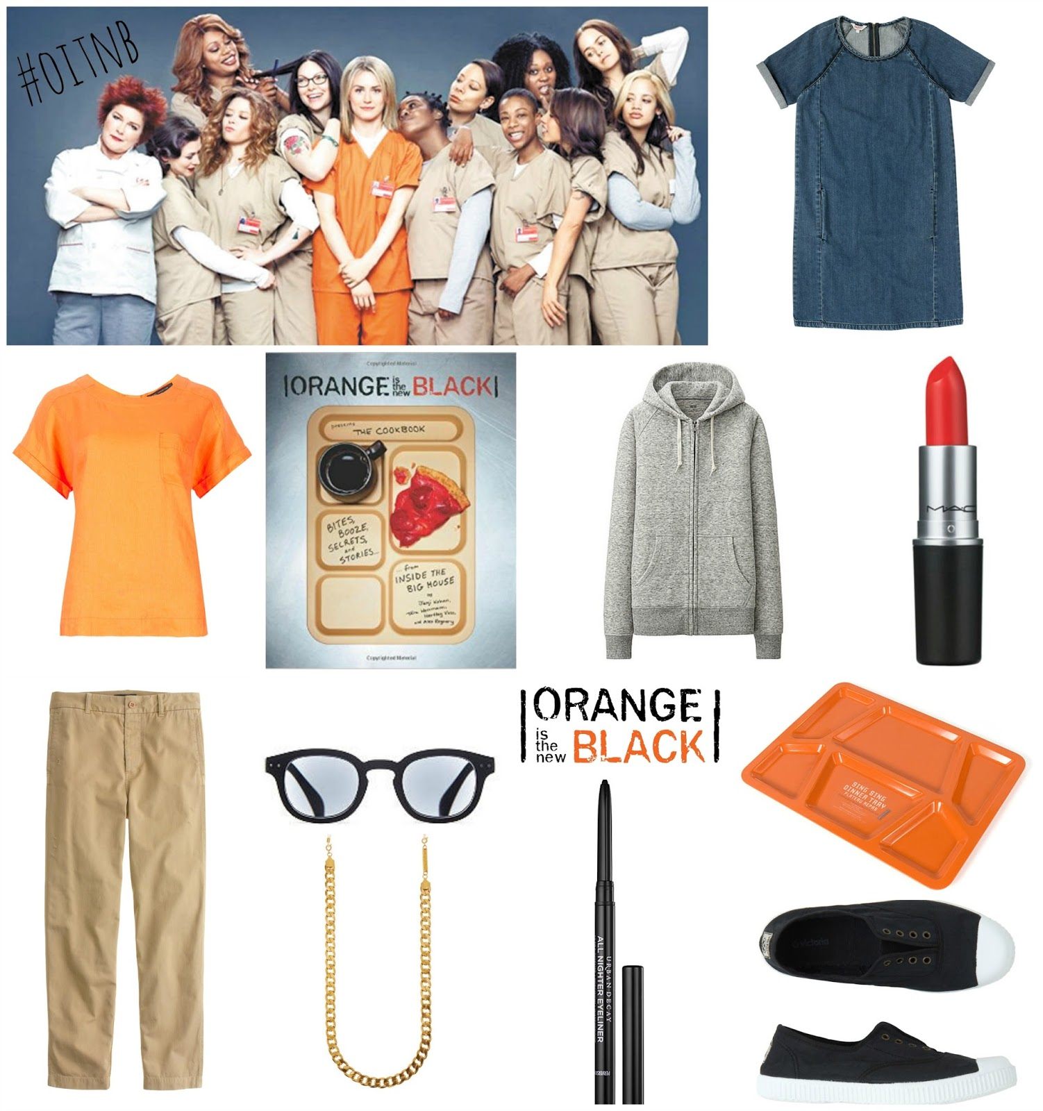 mamasVIB | V. I. BABYMAMAS: Doing TIME with Netflix and Orange Is the New Black new series launch!  orange is the new black | oitnb | netflix | stream team | tv series | launch tonight | new series | series 3 | piper chapman | orange | fashion | j crew | denim dress | chinos | prison fashion | oitnb style | cath kids ton | frame chain | goat | pumps | dresses | hoodie | grey sweats | uniqlo | mac | orange lipstick | sexy  eye liner | orange is the new black cookbook | food | style | fashion | marks & spencer | prison food tray | black | style | mamasvib | netflix streaming | dram series | blogging | event | premiere | london | oitnblondon | exposure pr | netflix tv | streaming tv service | mamasVIb | tv