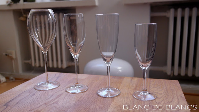 Samppanjalasin uusi muoto - www.blancdeblancs.fi