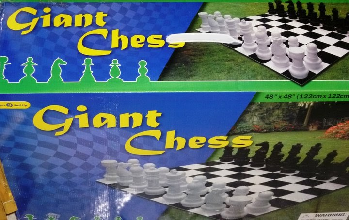 Clubescaque tu tienda en ajedrez ajedrez mini gigante for Ajedrez gigante para jardin