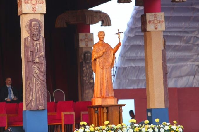 Santo Padre canoniza o primeiro santo do Sri Lanka