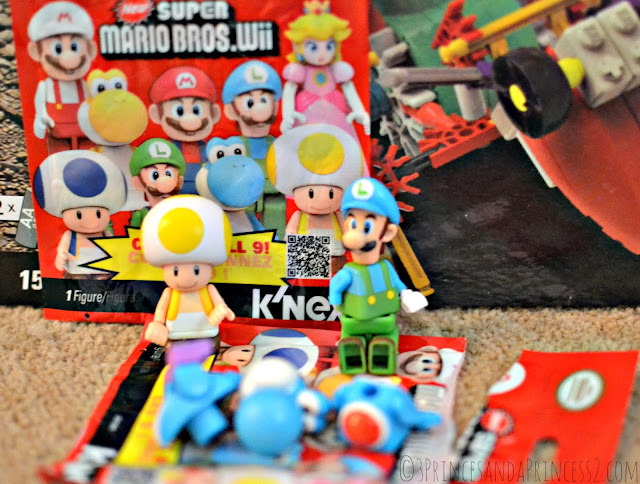 #KNEX Super Mario Bros. Wii. Mystery figures