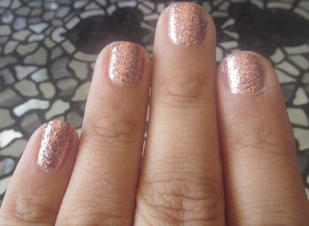 materialgurl88 notd rose gold