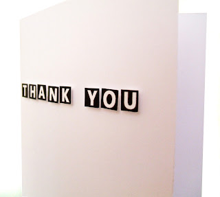 Thank you cards handmade by say it