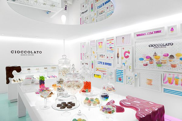 Well Imagine The Miniature Of That Factory, Or The Only One Little Room  Variant And You Will Picture The New Chocolate Cioccolato Candy Shop. Home Design Ideas