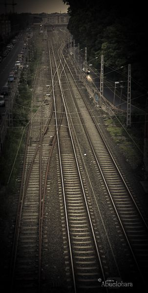 Viajar sin ti. Poema y fotografia