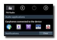 Samsung Galaxy S3 Headphone notifikasi bar