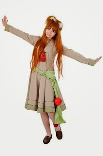 Anastasiya Reznikova cosplay as Horo from Spice and Wolf