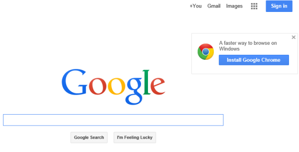how to make google your homepage on chrome windows 8