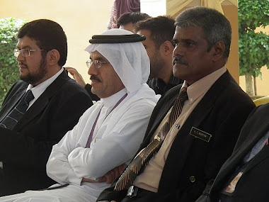 GB, En K Thachanamurthy bersama peserta dari Arab.