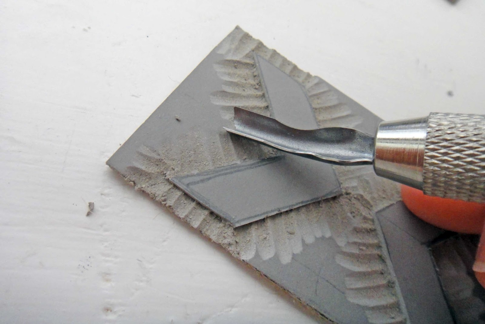 The gilded hare tutorial how to carve linoleum blocks