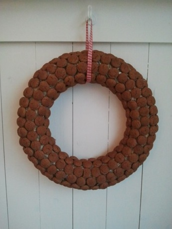 Party wreath cookies