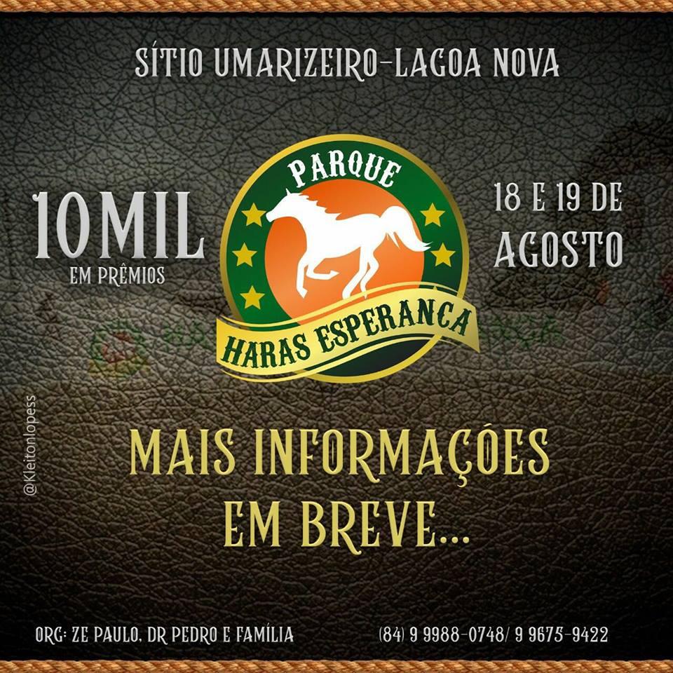 PARQUE HARAS ESPERANÇA - CONVIDA