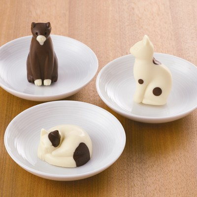 Muji Japan Silicone Cake Mold Cats
