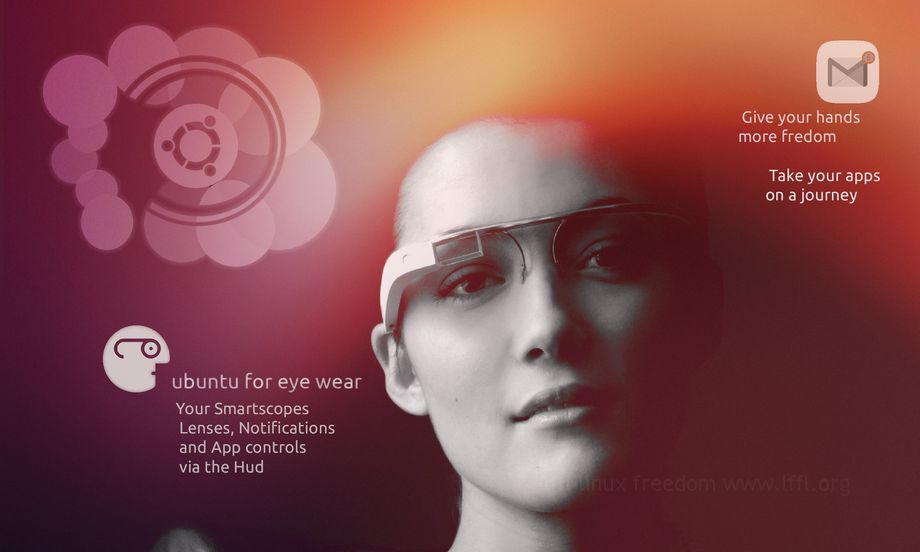 Ubuntu in Google Glass