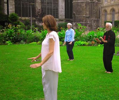 Qi Gong jardin de l'hôtel de ville Rouen