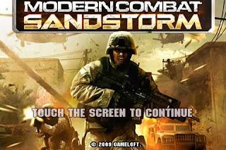modern combat sandstorm HD (qvga)