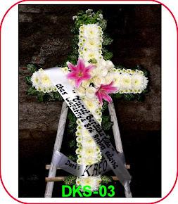 Karangan Bunga Salib