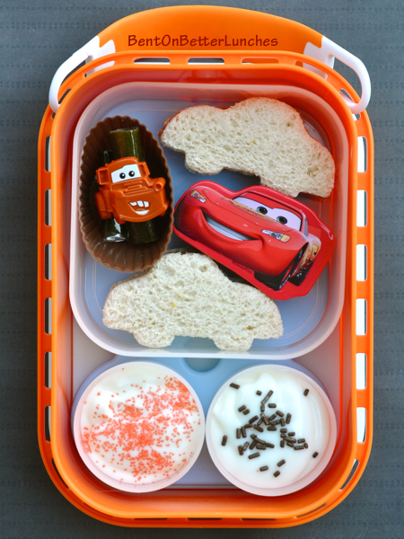 Cars Mater & Lightning McQueen yubo bento School Lunch