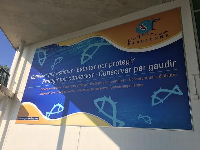 Barcelona, Spanyol,Eropa,Wisata,Travelling, Port Vell, L'Aquarium De Barcelona