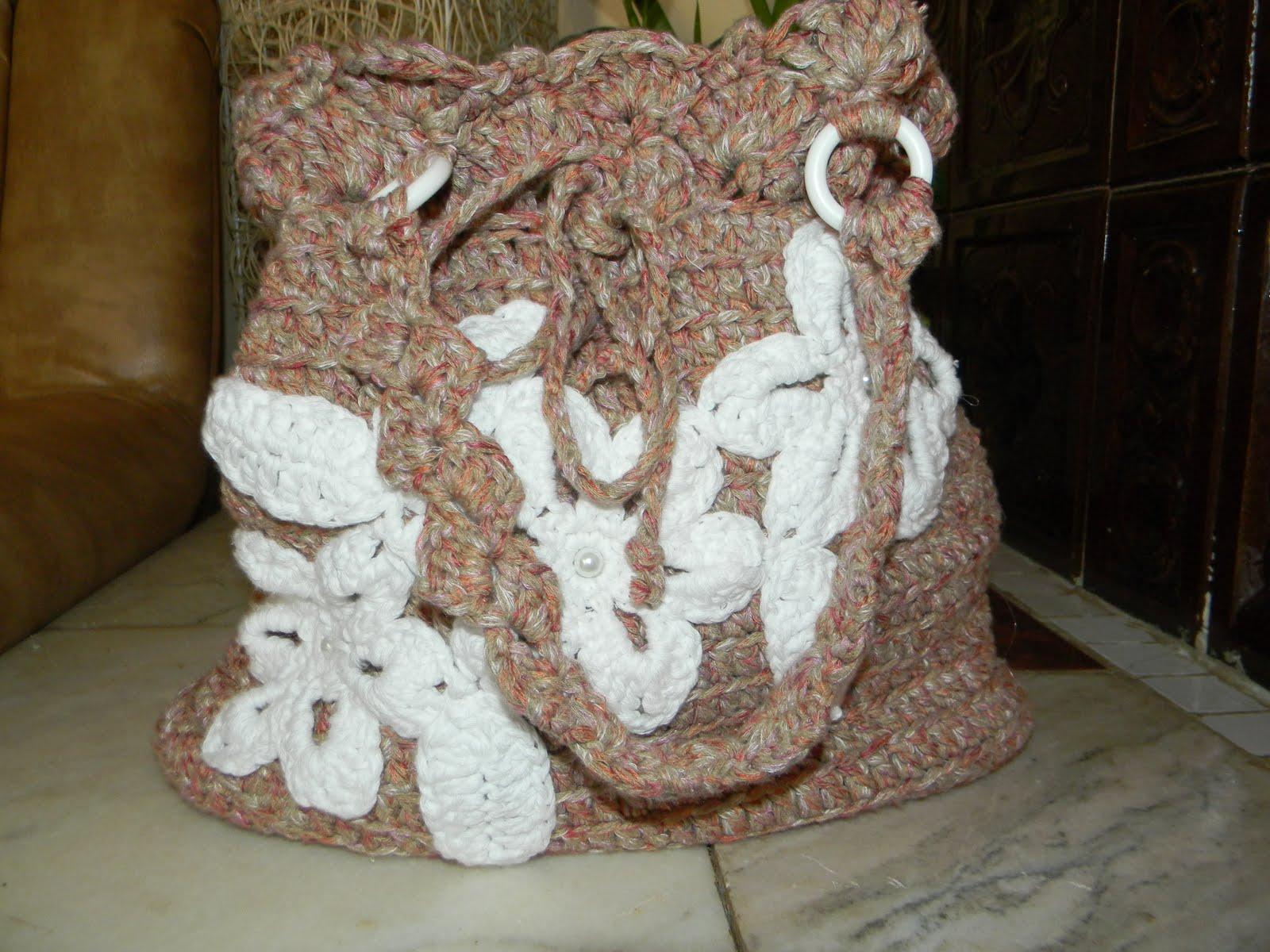 Handmade Valentinadof: Genti crosetate