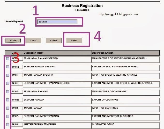 Ain Safiyyah Cara Daftar Perniagaan Secara Online Di Ssm Step Bergambar