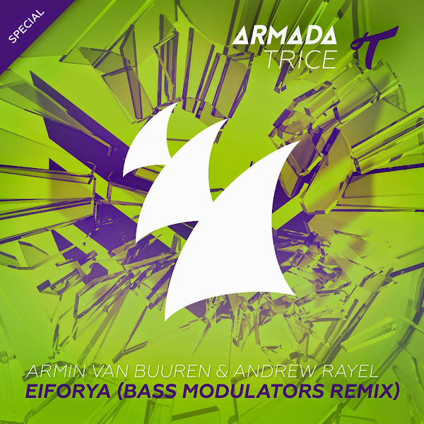Armin van Buuren & Andrew Rayel - Eiforya (Bass Modulators Remix) - Single Cover
