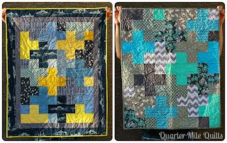 http://quartermilequilts.blogspot.com/2013/10/borders-vs-no-borders-quilting.html