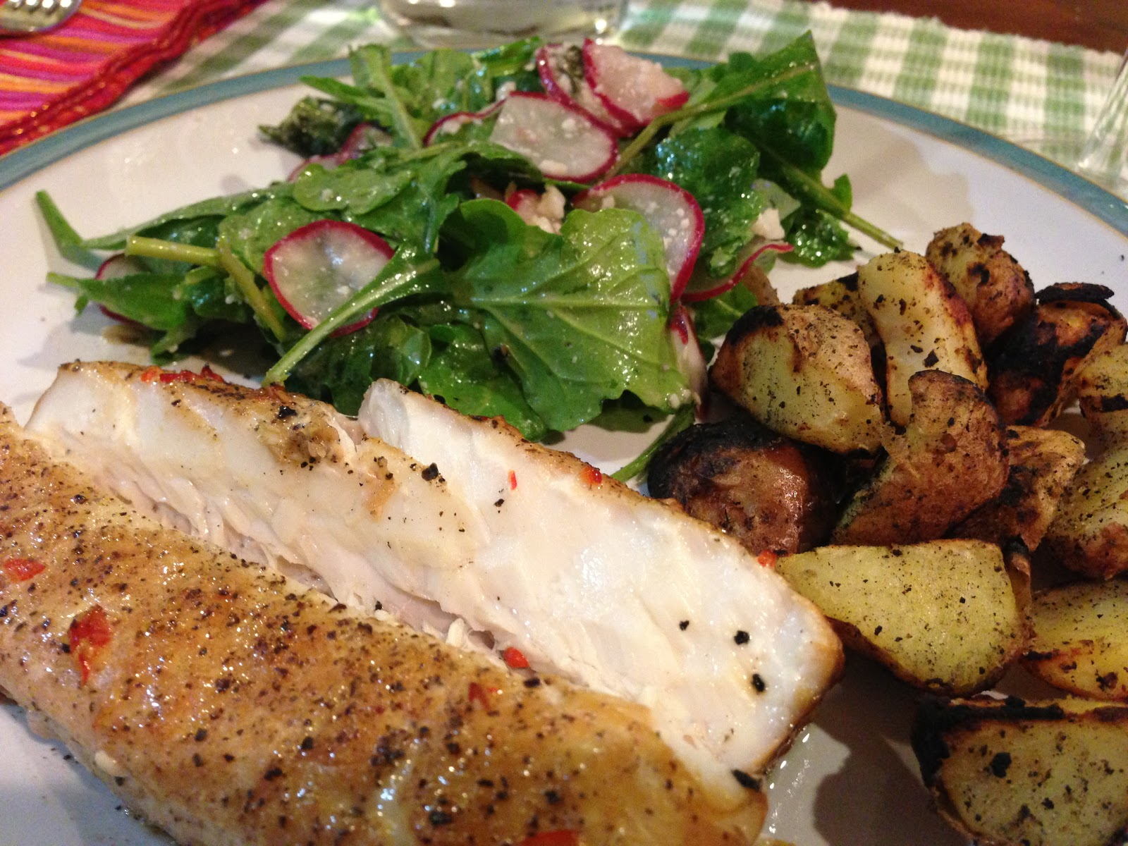 how to make grilled blackened halibut