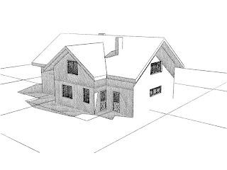 Dom z poddaszem użytkowym SPA i biuro