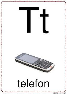 litera t do wydruku