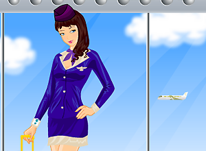 Chica de altos vuelos