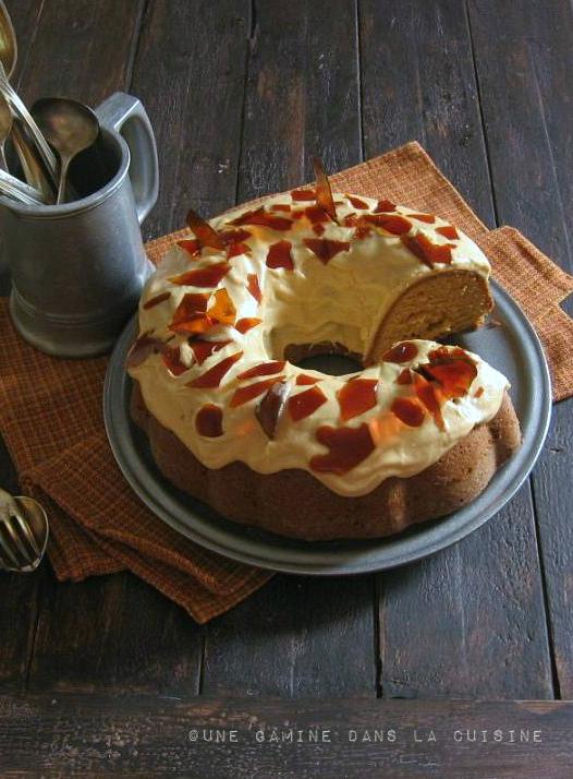 burnt sugar bundt cake with caramel-rum frosting |une gamine dans la cuisine