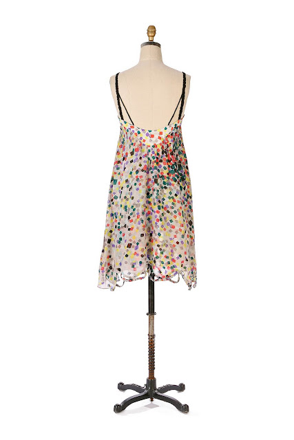 Anthropologie Ticker Tape Dress