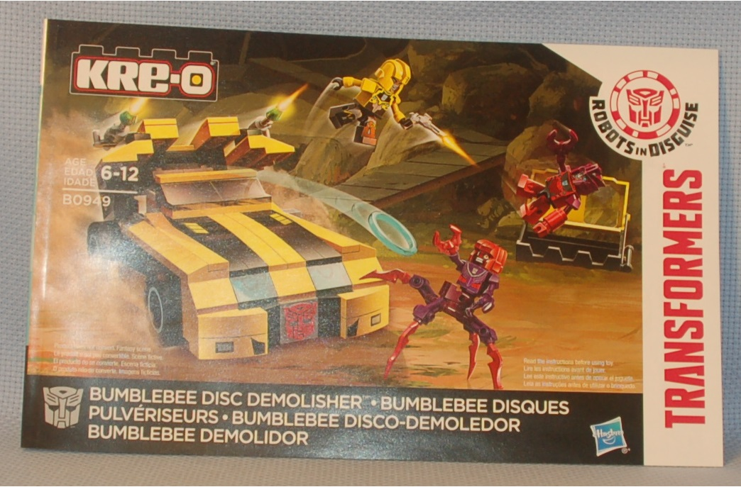 The Mobile Frame Garage Purity B0949 Bumblebee Disc Demolisher Review