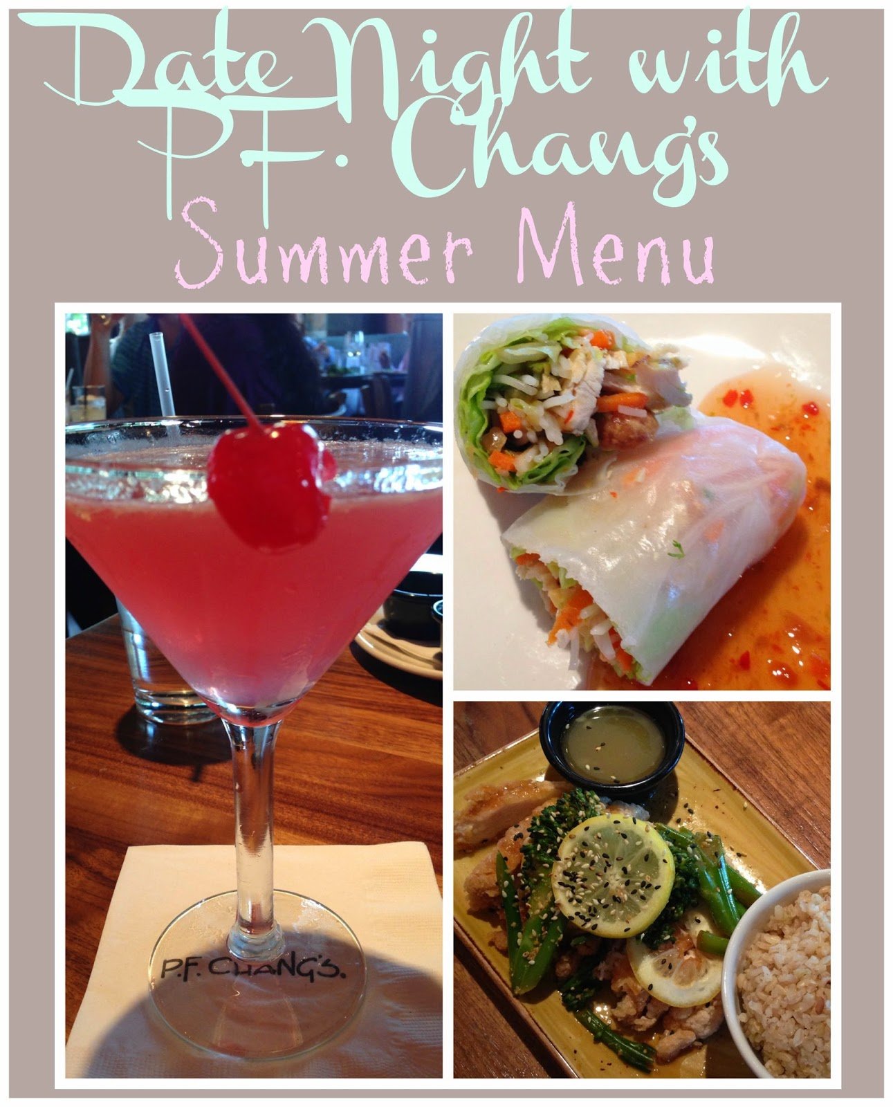 P.F. Chang's Menu, P.F. Chang's Summer Menu, P.F. Chang's cocktails, Small plates at P.F. Chang's, Happy hour at P.F. Chang's, P.F. Chang's beer, Beer and Asian food, Beer and food pairings
