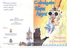 Programa de actos e itinerario, Cabalgata Reyes Magos 2012