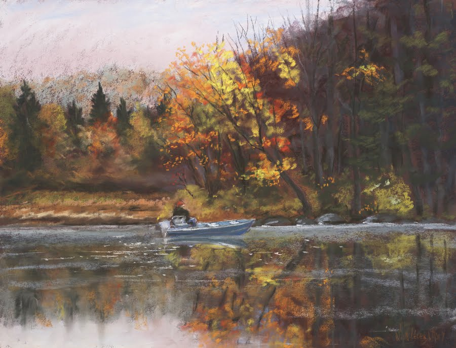 Fall Fishing, 18x24  $1800.  ©2017